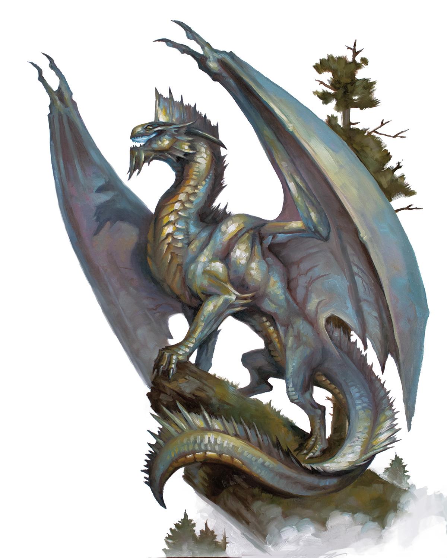 Silver dragon   Forgotten Realms Wiki   FANDOM powered by Wikia