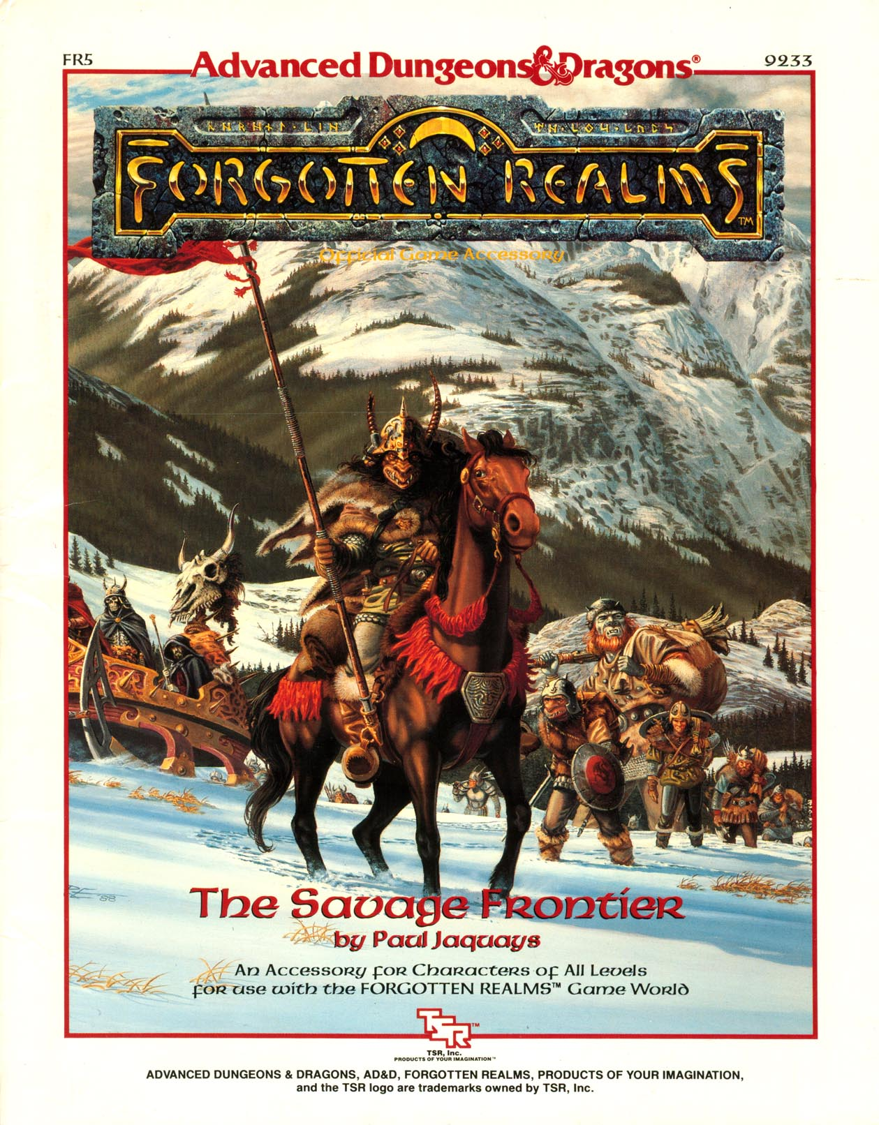 The Savage Frontier (sourcebook) | Forgotten Realms Wiki ...