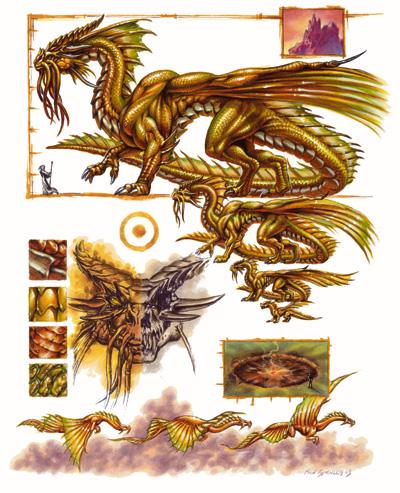 Gold Dragon Forgotten Realms Wiki Fandom Powered By Wikia