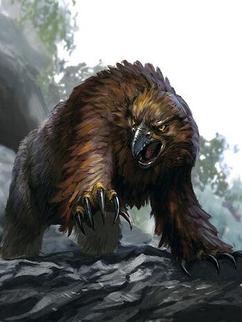 Owlbear Forgotten Realms Wiki Fandom Powered By Wikia