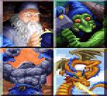 Basal golems - wizard, gnome, stone golem, wyrm