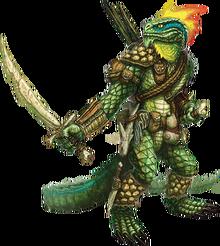 Lizardfolkadventurer