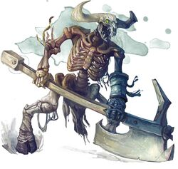 Minotaur skeleton-5e