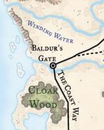 Baldurs Gate Location