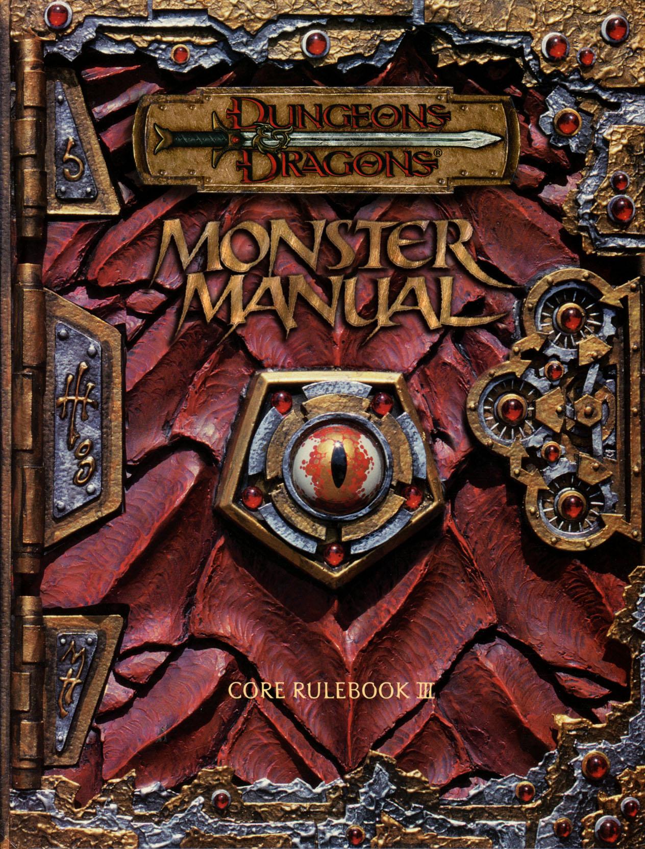 monster manual 3rd edition forgotten realms wiki fandom powered rh forgottenrealms wikia com monster manual 3d print monster manual 3d print