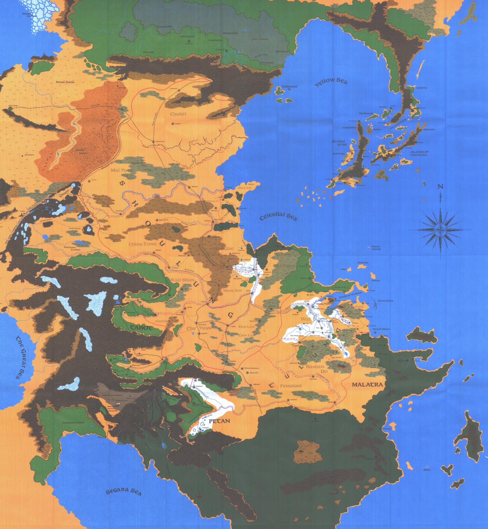 Kara-Tur | Forgotten Realms Wiki | FANDOM powered by Wikia