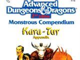 Monstrous Compendium Kara-Tur Appendix