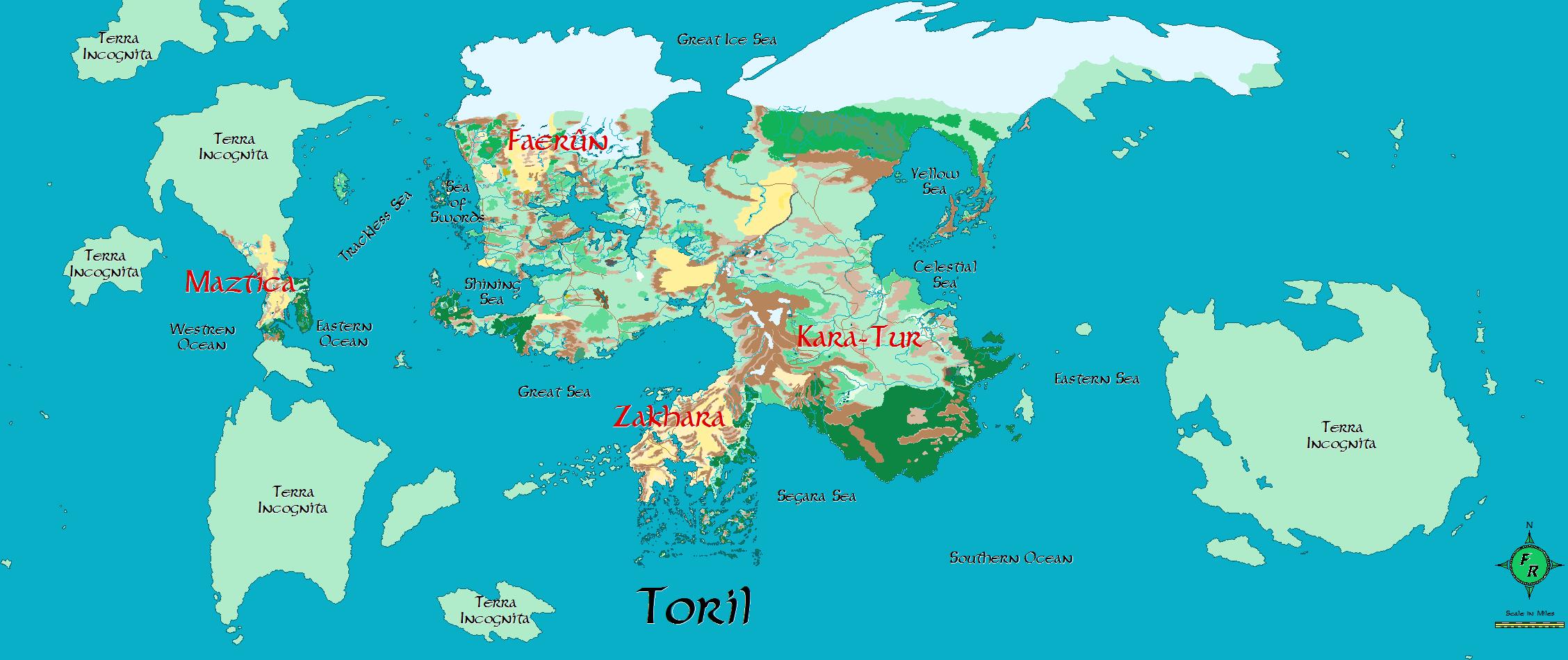 Toril Forgotten Realms Wiki Fandom