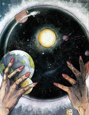 Crystal sphere-2e
