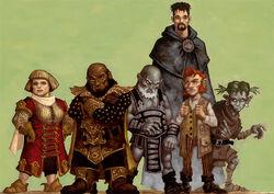 FRCS3e dwarves, human, gnomes