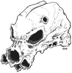 Mindflayer skull