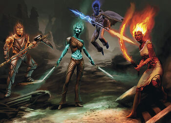Genasi | Forgotten Realms Wiki | FANDOM powered by Wikia