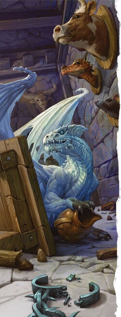 White dragon wyrmling-5e