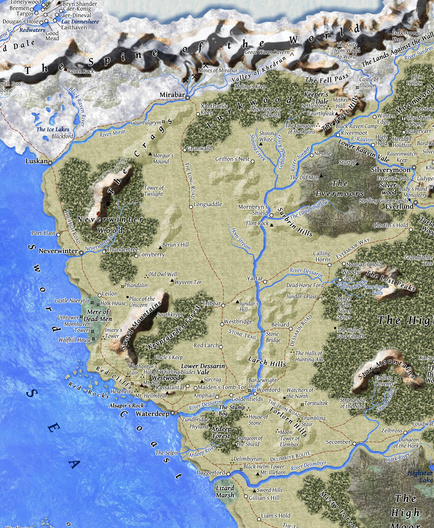Sword Coast North | Forgotten Realms Wiki | FANDOM powered