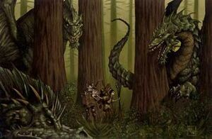 Forest of Wyrms