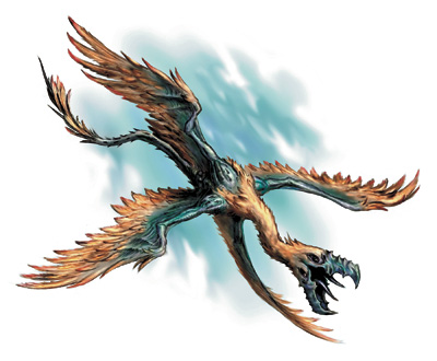 Image result for dnd four winged bird