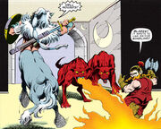 Hell hounds DC Comics