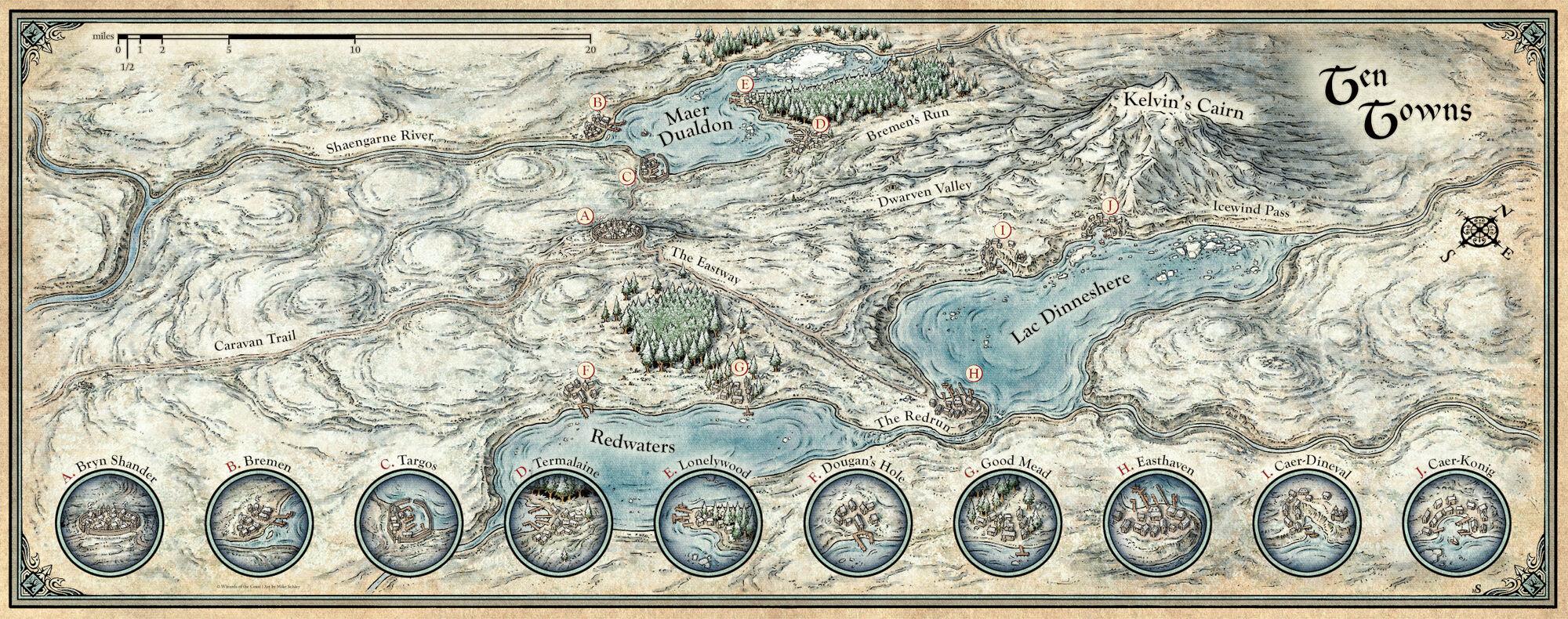 Ten Towns | Forgotten Realms Wiki | FANDOM powered by Wikia on