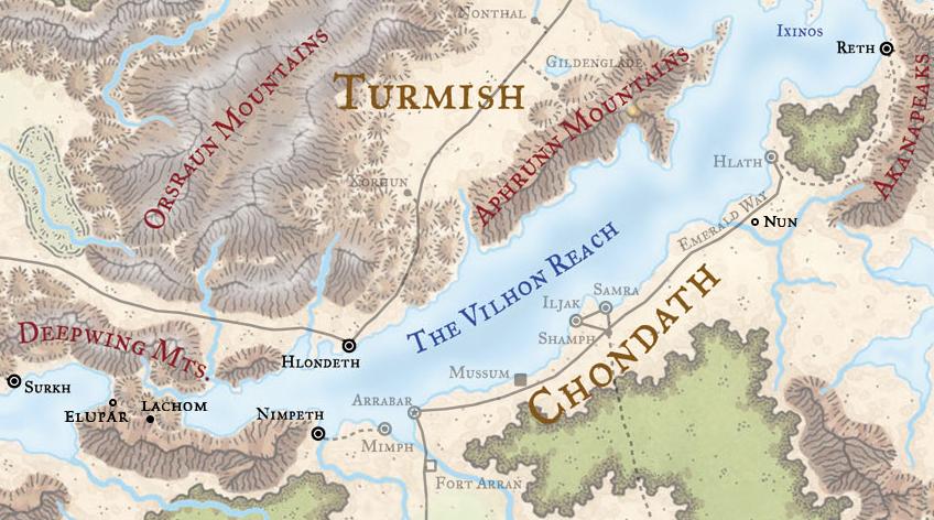 Free Cities of the Vilhon Reach | Forgotten Realms Wiki | FANDOM