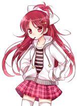 Anime-girl-hair-clips-jacket-kawaii-Favim com-255010