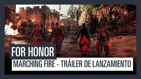 FOR HONOR Marching Fire - Tráiler de lanzamiento