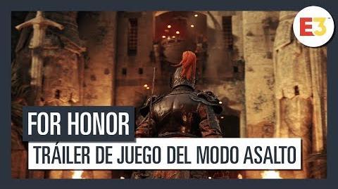 For Honor Tráiler de juego del modo Asalto E3 2018
