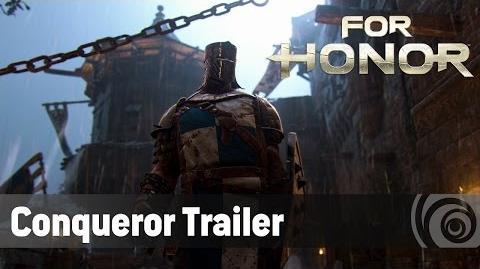For Honor - Conqueror Trailer ES