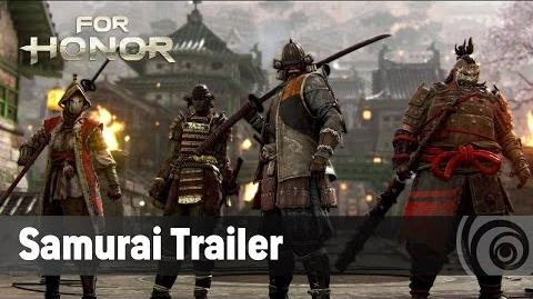 For Honor - The Samurai - Official Trailer (TGS 2016) ES
