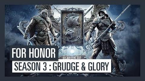 For Honor Season 3 Grudge and Glory