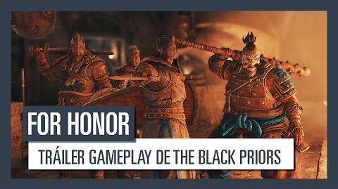 For Honor Tráiler gameplay de The Black Priors