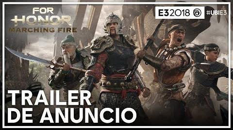 For Honor - Trailer de Anuncio Marching Fire E3 2018