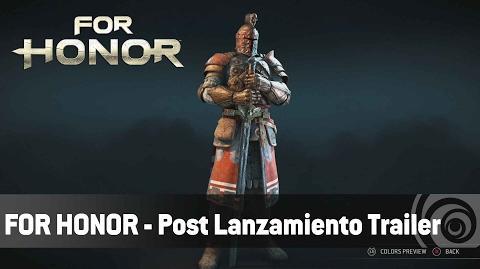 For Honor - Post Lanzamiento Trailer