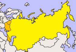 Map of Russia 1922