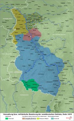 Occupied Rhineland
