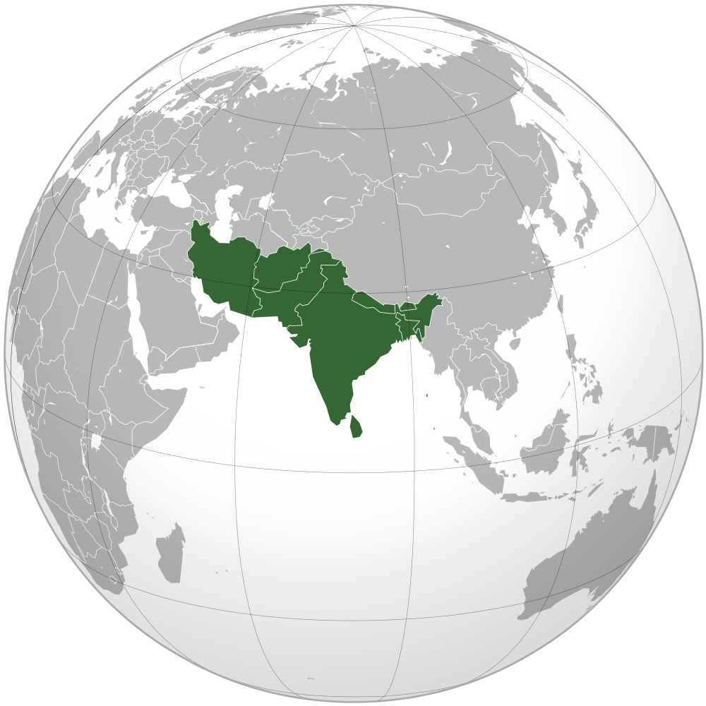 map of south asiapng