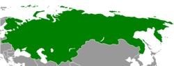 Location of the Russian Provisional Government