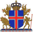 Coat of Arms of the Kingdom of Iceland