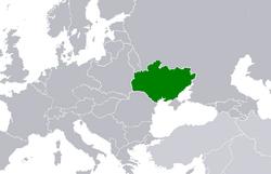 Map of the Ukrainian SSR (1922)