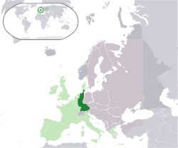 Location of West Germany