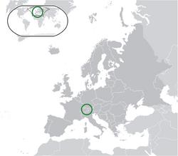 Map of Liechtenstein
