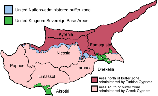 Image Administrative Map of Cypruspng The Countries Wiki