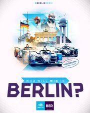 Berlin E-Prix Poster 2019