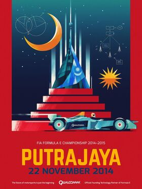 Putrajaya ePrix Poster 2014