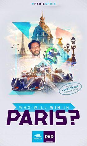 Paris E-Prix Poster 2019