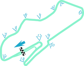 Donington Layout