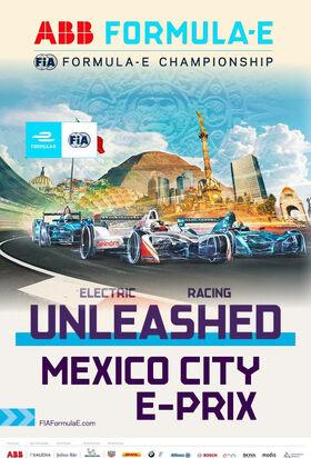 Mexico City E-Prix Poster 2018