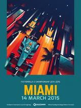 Miami ePrix Poster 2015