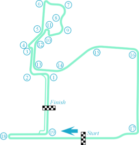 Seoul Street Circuit Layout 2020