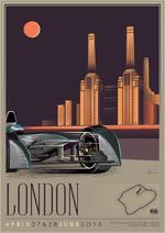 London E-Prix Poster 2015