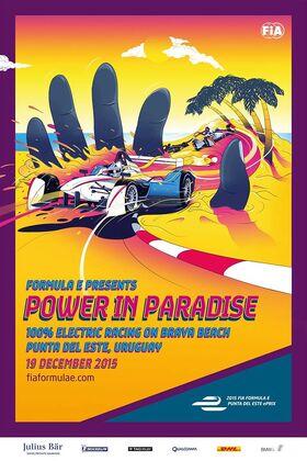 Punta del Este Poster 2015